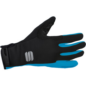 Sportful Essential 2 Handschuhe black/blue atomic